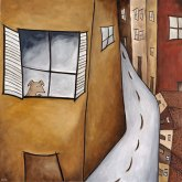 Dog in Window, SOLD to Barbara Blazek.