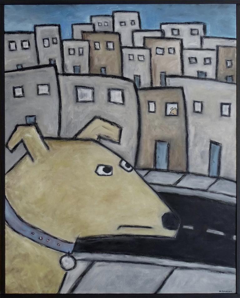 Dog Across The Street.JPG