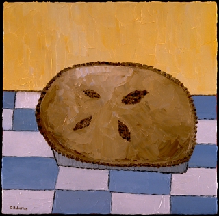 "Apple Pie, 12 x 12."" SOLD to Todd Grant."