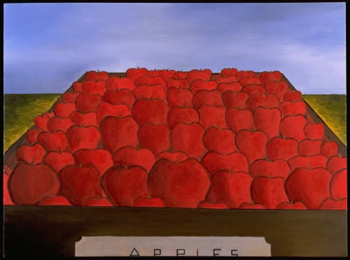 """Apples in Truck, 30 x 40."""" SOLD @ Zonal, SF."""
