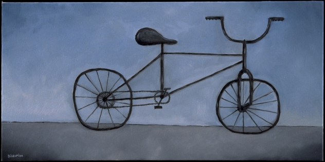 "Bicycle, 10 x 20."" SOLD to Margaret Johnson."