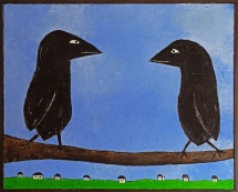 SOLD to Ali Yurukoglu and Emily Parker with a donation made to Rainforest Action Network.