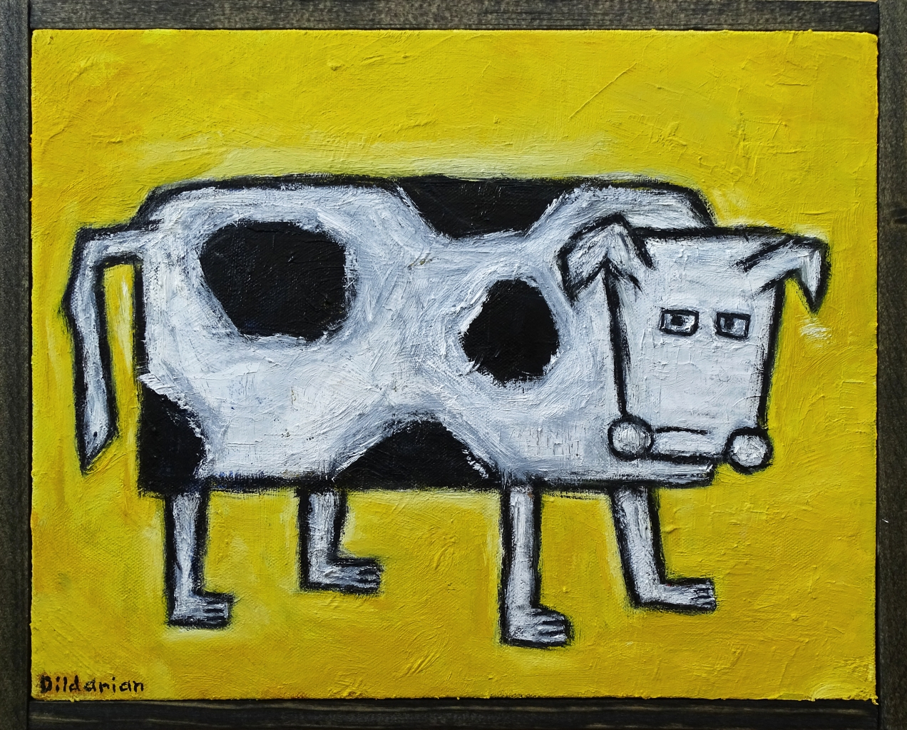 Cow in a Bad Mood 11x14